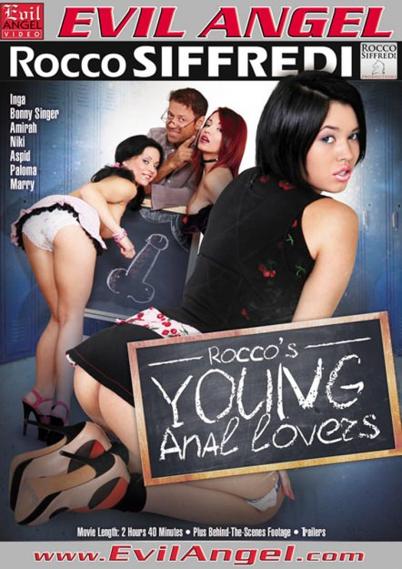 Rocco's Young Anal Lovers Dvd Cover