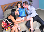Mature and Young : Couples Seeking Teens #02 - Kristina Rose & Raylene & David Perry!