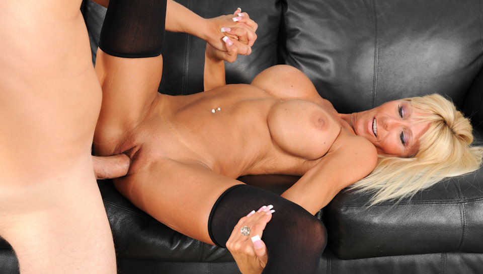 Busty MILF Kasey Storm loves to ride cock