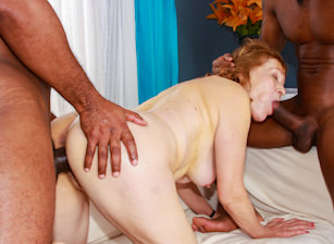 Grandma Loves Black Cock, Scene #03