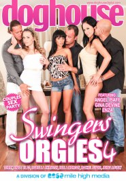 Swingers Orgies #04 DVD Cover