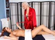 Lesbian Seduction : Quite the Tip - Jayden Cole & Macy Cartel!