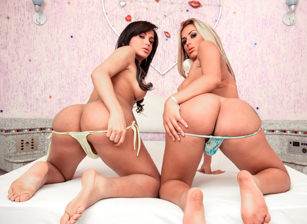 Juliana Souza And Bruna Butterfly, Scene #01
