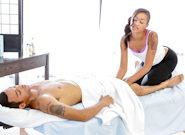 Hot Sluts : The Masseuse #04 - Skin Diamond & Wrexxx!