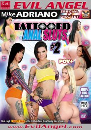 Tattooed Anal Sluts #02 DVD Cover