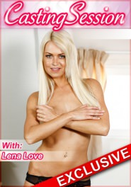 Casting #69 Lena Love DVD Cover