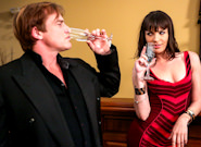 Hot Sluts : The Escort - Evan Stone & Dana DeArmond!