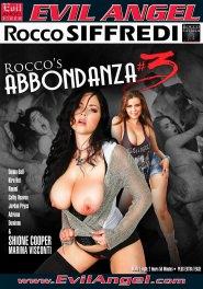 Rocco's Abbondanza #03 DVD