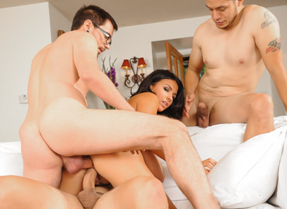 College Group Sex, Scene #02