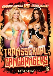 Transsexual Gang Bangers #18 DVD Cover
