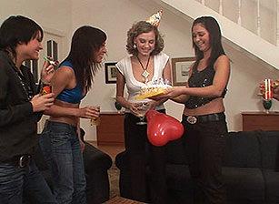 Cream Pie Orgy #06, Scene #02