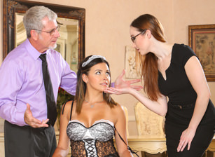 Seduced By The Boss's Wife #02, Scene #01
