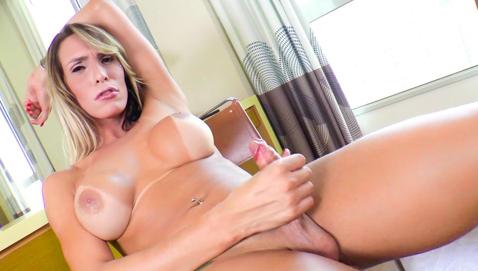Adriana kelly uses a massive vibrator on her tiny pussy 10