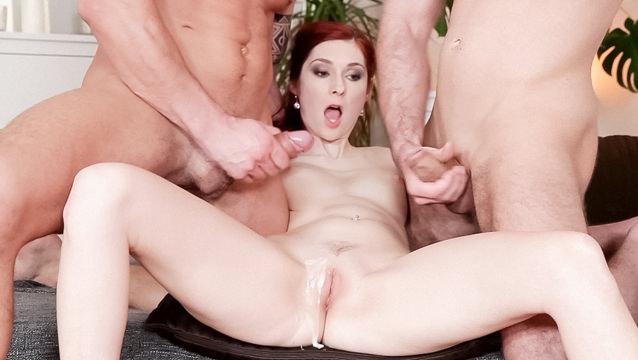 CUMSHOTS-Bi-Sexual Cuckold #08
