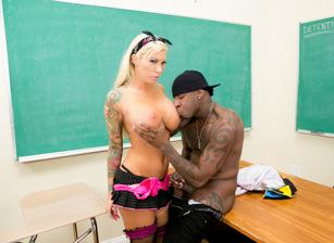 Student craves big black cock