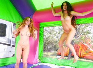 The sexiest bounce house ever