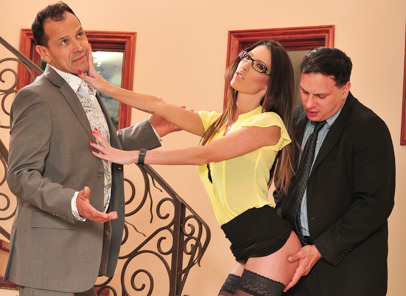 Seduced by the boss wife 05 anthony rosano dava foxx. Excited guy bangs his boss's great tittied slutty wife Dava Foxx