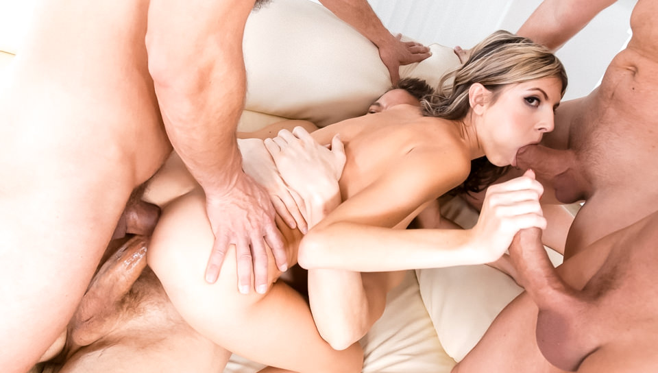 4 on 1 Gang Bangs #07, Scene #02