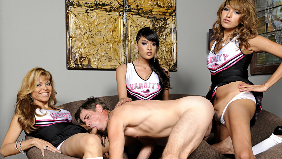 TrannyPros.com Transsexual Cheerleaders 03, Scene 04