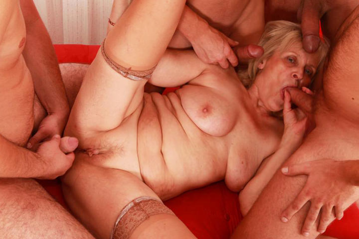 Blonde Busty Mature Stepmom