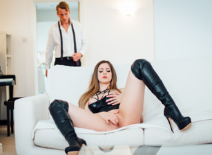 Be gentle with me stella cox luke hardy. Hot Stella Cox's tits bounce while having sex with her man.