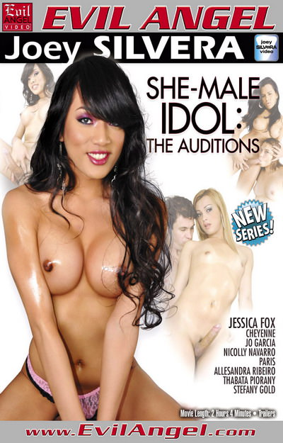 She-Male Idol The Auditions Dvd Cover