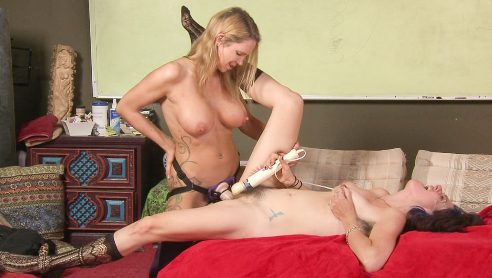 Lesbian Sex Education - Strap On, Scene #01