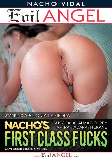 Nacho's First Class Fucks Dvd Cover