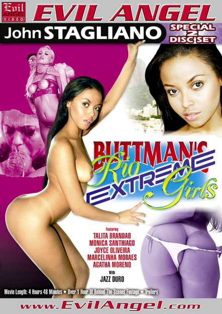 Buttmans Rio Extreme Girls Dvd Cover