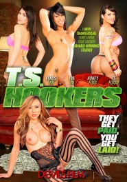 TS Hookers DVD Cover