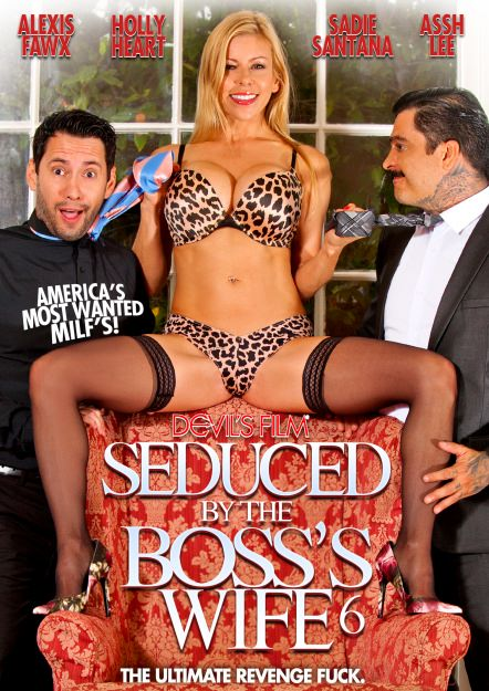 Seduced By The Boss's Wife #06 Dvd Cover