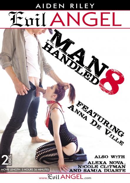 Manhandled #08 DVD Cover