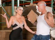 Seduced by the boss s wife 07 derrick pierce jack vegas nina kayy. Slutty wife Nina Kayy fuck in the warehouse by a worker.
