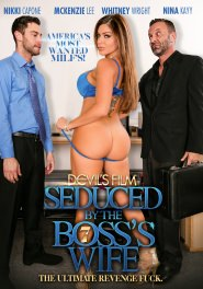 Seduced By The Boss's Wife #07 DVD Cover