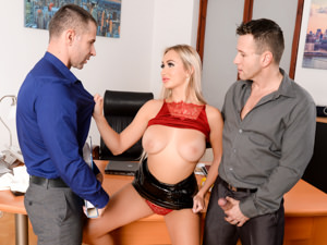 DPFanatics – Office Double-Shift – Lara Onyx
