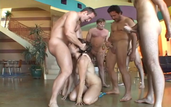 Gang Bang My Face 4, Scene #04
