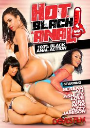 Hot Black and Anal DVD Cover