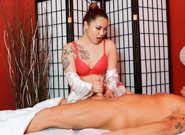 Strip mall asian massage 03 marcus london marika rose. Everybody loves an Asian massage-and-tug. When English business man Marcus London comes to town he frequents all the shops. Today he gets lascivious fresh off the boat Marika Rose. Prime little Asian 18 year old snatch.