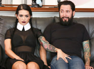 Very adult wednesday addams katrina jade tommy pistol katrina jade. In this adult Wednesday Addams sex fantasy, Katrina Jade features as your favorite creepy goth girl! Today, she takes her Uber driver Tommy Pistol on a journey down her very long driveway.. It's only when they reach their final destination that Tommy realizes Katrina's ride hasn't yet ended, and his only choice was orgasm inside at her demand! She told him to eat her pussy, and while scared, he knew what must be done! Besides, if he didn't make her ejaculate like the devil by have intercourse the abyss right out of her, he might find himself in danger...