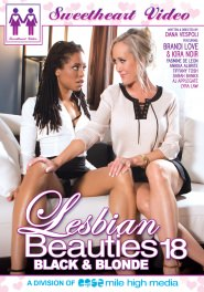 Lesbian Beauties #18 - Blacks & Blondes DVD Cover