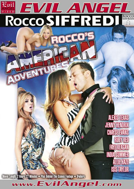 Rocco's American Adventures Dvd Cover