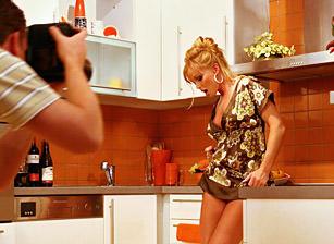 Silvia Saint Solo - Kitchen
