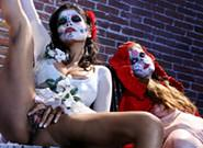 Adult Videos : Alexis Amore And Nikki Rhodes - Nikki Rhodes & Haley Amore!