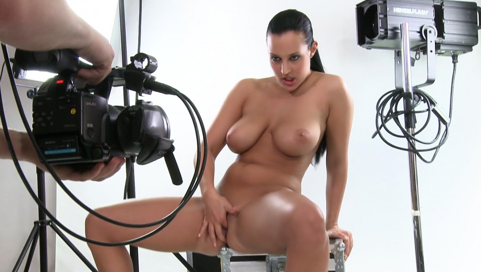 Carmen has a solo session in front of the cameras