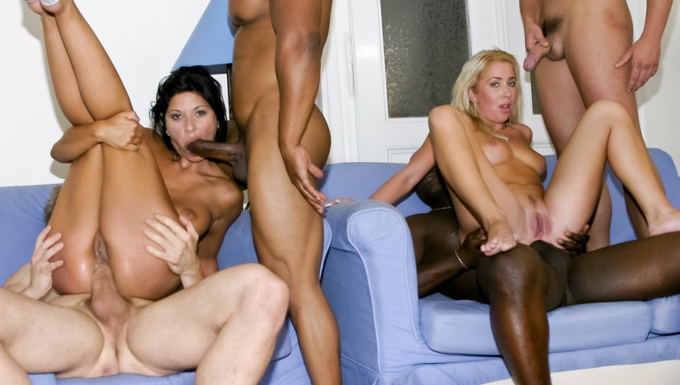 Hardcore drilling of two crazy MILF's
