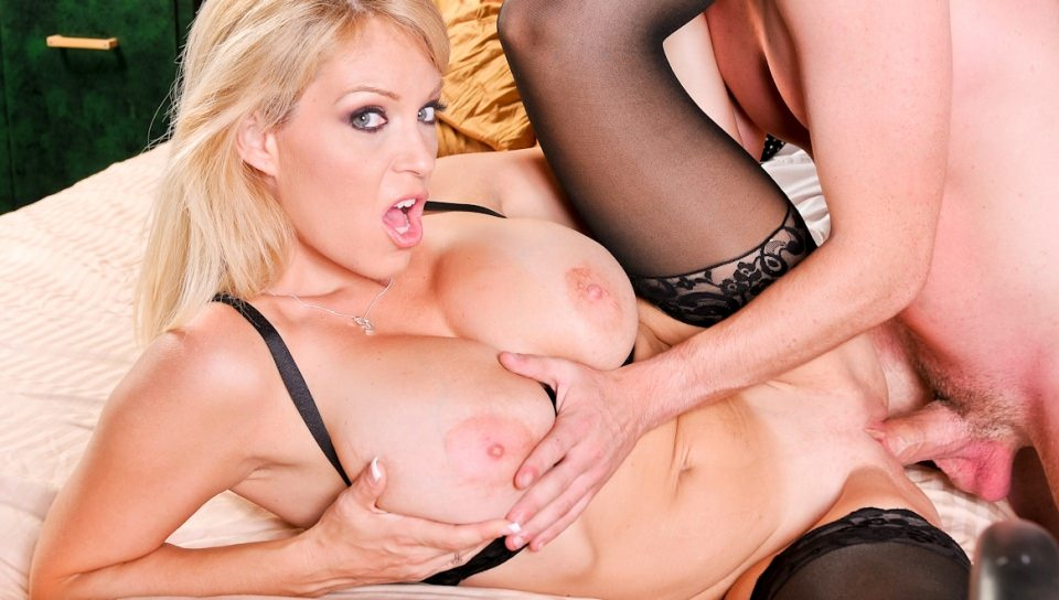 Sexy MILF Charlee Chase gets fucked hard