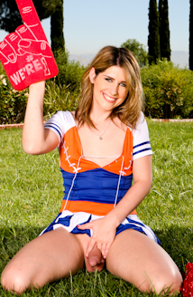 Thanks for Amy daly cheerleader