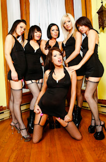 Girly Gang Bang #10 Picture
